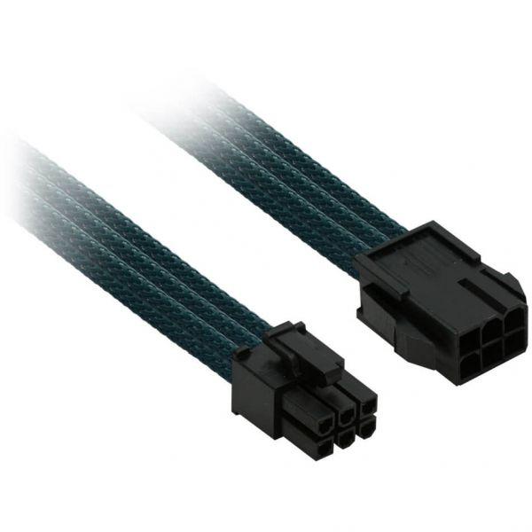 Nanoxia 6-Pin PCIe 30 cm Verlängerung grün (NX6PV3EG)