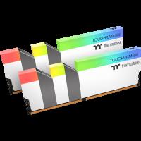 Thermaltake Toughram RGB 32 GB DDR4-3600 DIMM CL18 Dual Kit weiß (R022D416GX2-3600C18A)