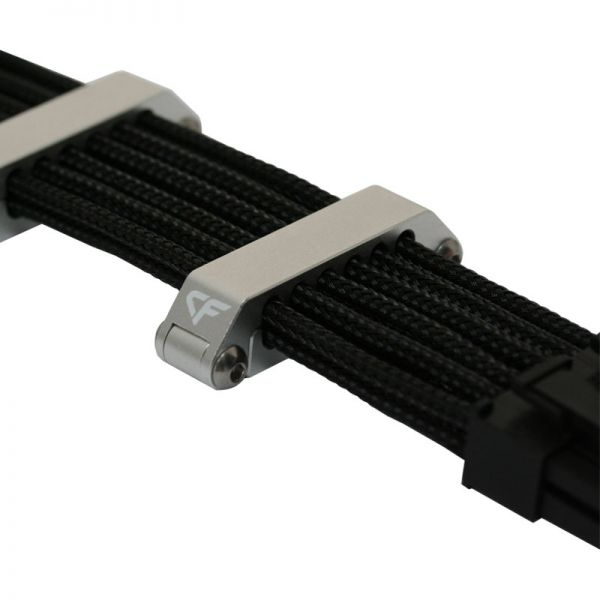 Nanoxia CoolForce CC-16 Kabelclip silber (NXCC600-16)