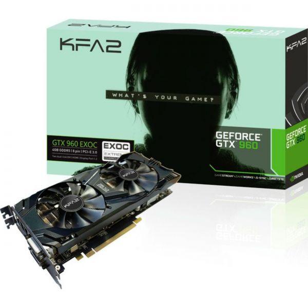 KFA2 GeForce GTX 960 EXOC 4 GB GDDR5 Retail