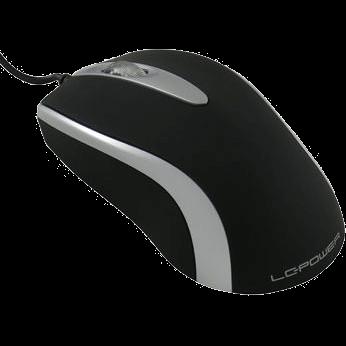 LC-Power M709BS Optische kabelgebunden Maus schwarz/silber (M709BS)