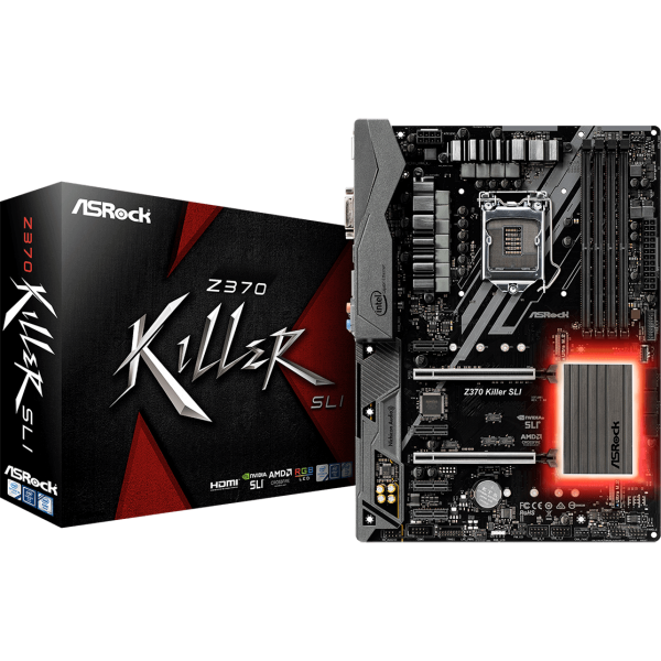 ASRock Z370 Killer SLI Intel 1151 v2 ATX