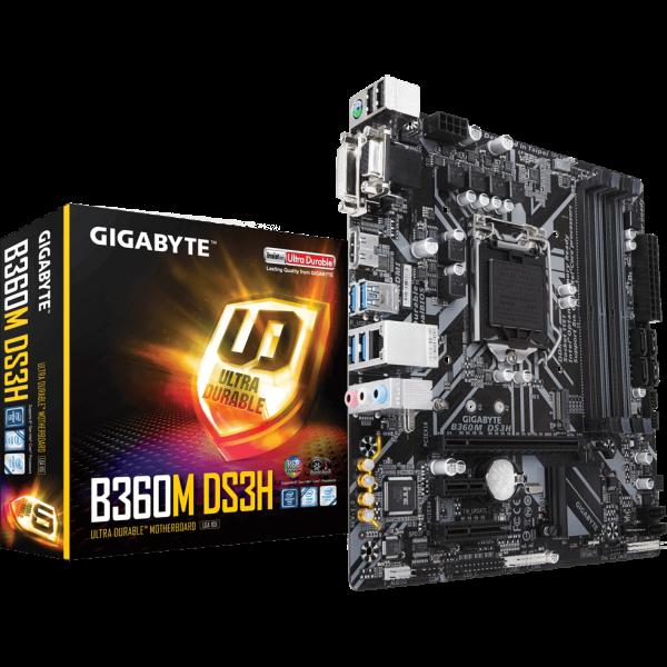 Gigabyte B360M DS3H Intel 1151 v2 µATX