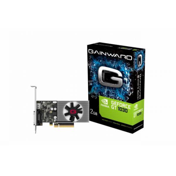 Gainward GeForce GT 1030 Low Profile 2 GB DDR4 Retail
