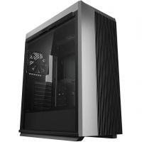 DeepCool CL500 schwarz/silber Midi Tower mit Glasfenster