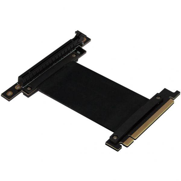 Nanoxia PCIe x16 Riser Card Typ-B 15 cm Verlängerung schwarz (NXPCIERI15)