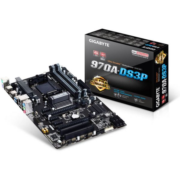 Gigabyte GA-970A-DS3P AMD AM3+ ATX