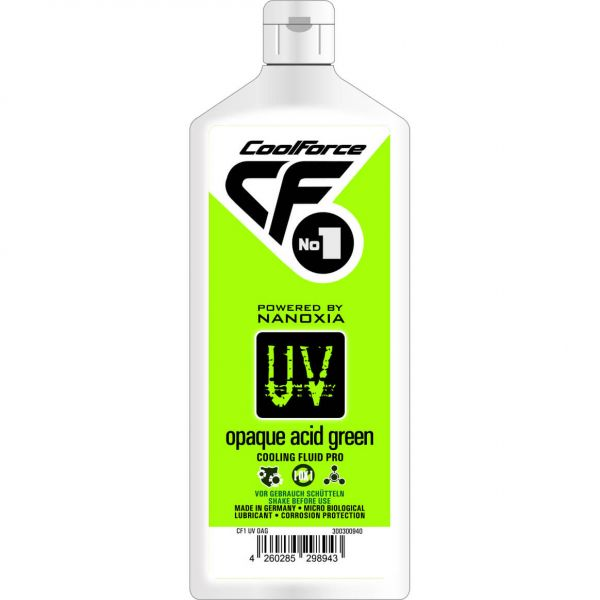 Nanoxia CoolForce No.1 Kühlflüssigkeit UV Opaque Acid Green 1 l