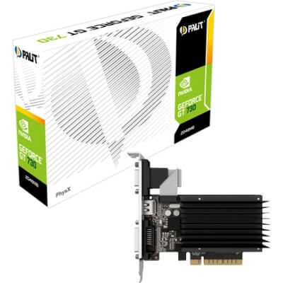 Palit GeForce GT 730 Low Profile Passiv 2 GB DDR3 Retail