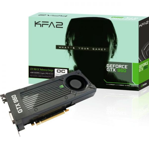 KFA2 GeForce GTX 960 OC 4 GB GDDR5 Retail