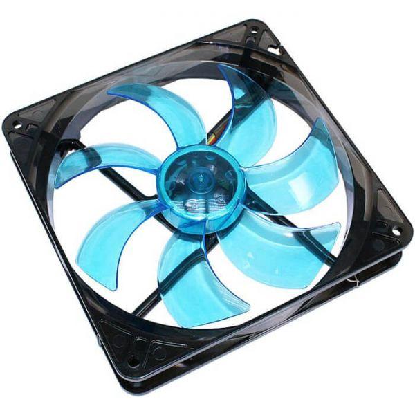 Cooltek Silent Fan 140 140 mm Lüfter LED Blue (CT140LB)