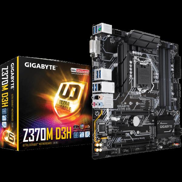 Gigabyte Z370M D3H Intel 1151 v2 µATX