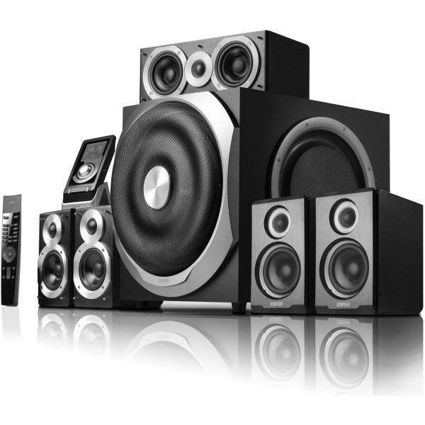 Edifier S760D schwarz 5.1 System (S760D)