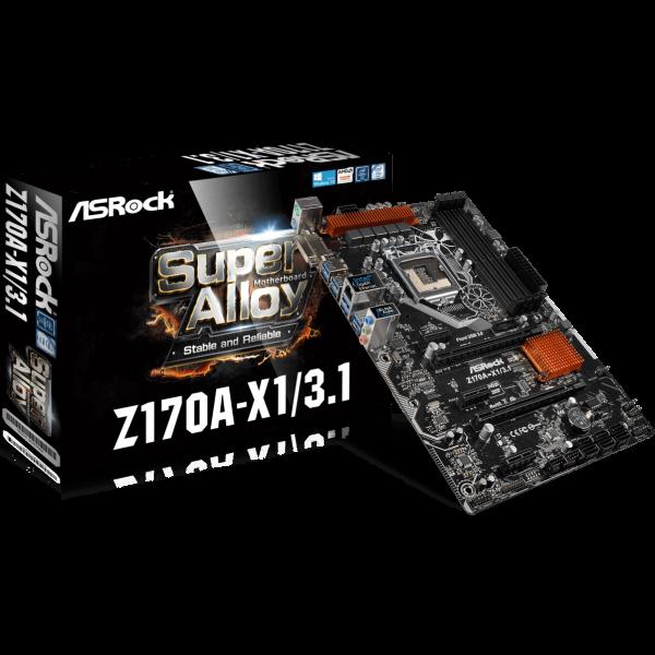 ASRock Z170A-X1/3.1 Intel 1151 ATX