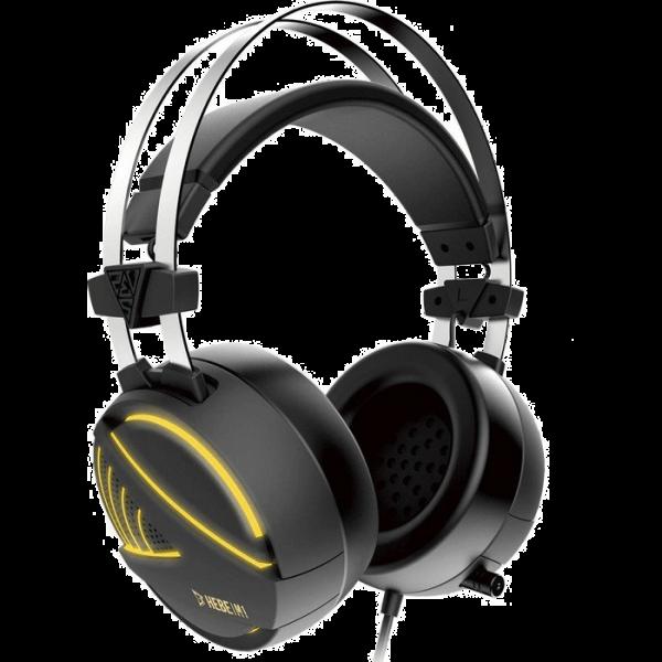 Gamdias Hebe M1 Over-Ear Headset USB schwarz/gelb (16812-29040-00600-G)