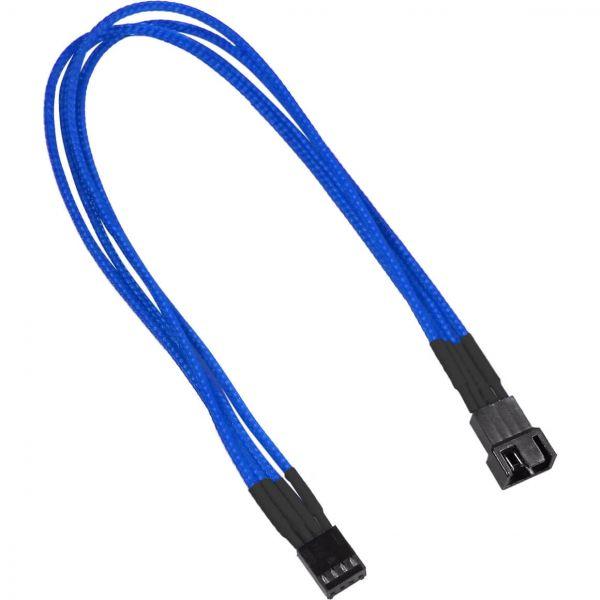 Nanoxia 4-Pin PWM 30 cm Verlängerung blau (NXPWV3EB)