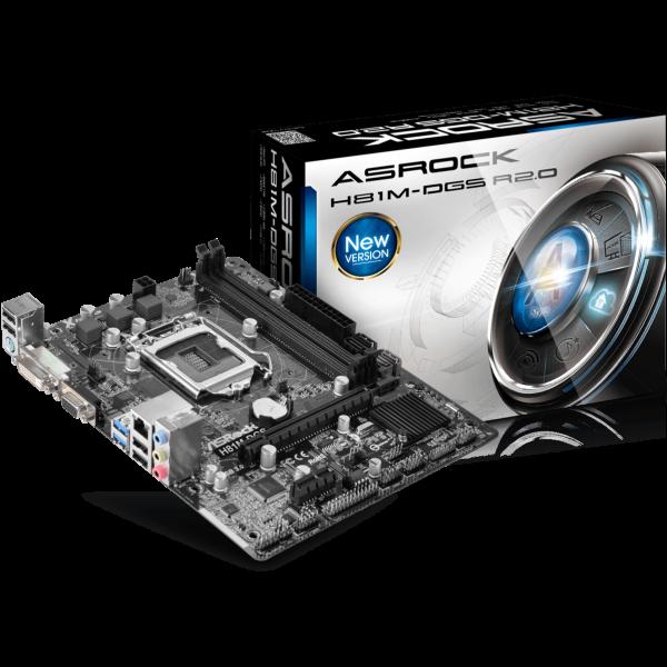 ASRock H81M-DGS R2.0 Intel 1150 µATX