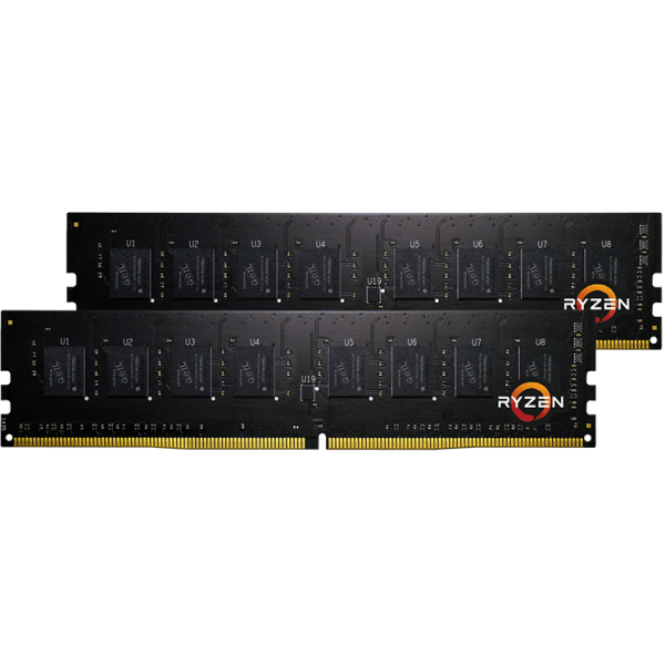 GeIL Pristine AMD Edition 32 GB DDR4-2400 DIMM CL16 Dual Kit schwarz (GAP432GB2400C16DC)