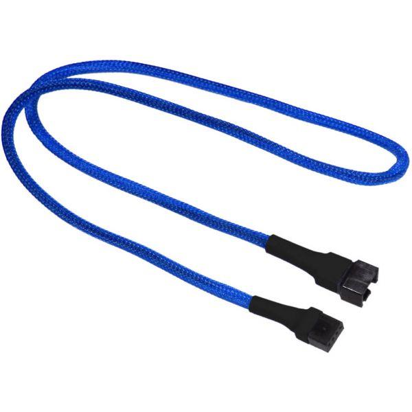 Nanoxia 4-Pin PWM 60 cm Verlängerung blau (NXPWV60B)