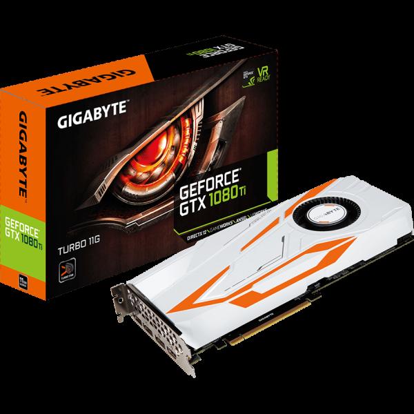 Gigabyte GeForce GTX 1080 Ti Turbo 11 GB GDDR5X Retail