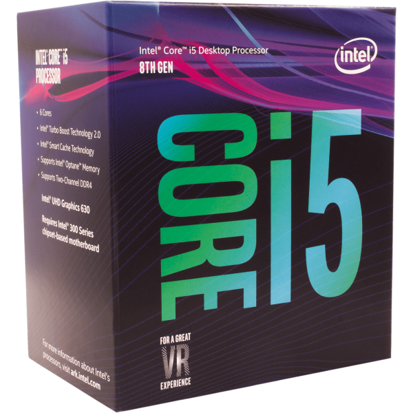 Intel Core i5 8400 6x 2,80 GHz BOX (BX80684I58400)