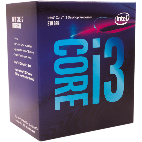 Intel Core i3 8300 4x 3,70 GHz BOX (BX80684I38300)