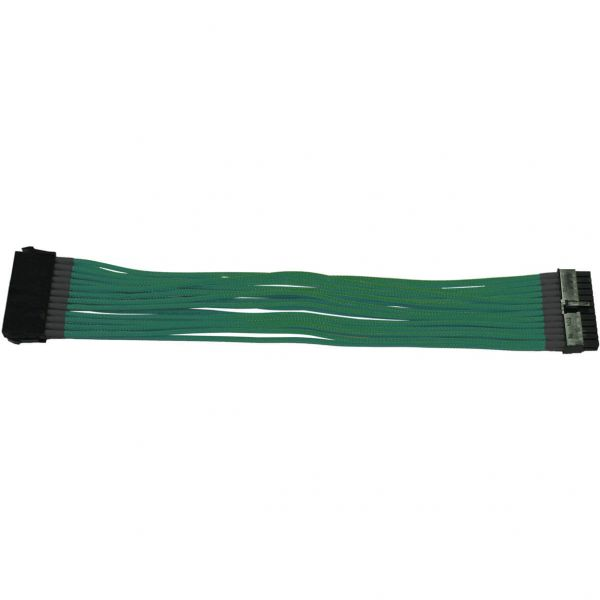 Nanoxia 24-Pin ATX 30 cm Verlängerung grün (NX24V3EG)