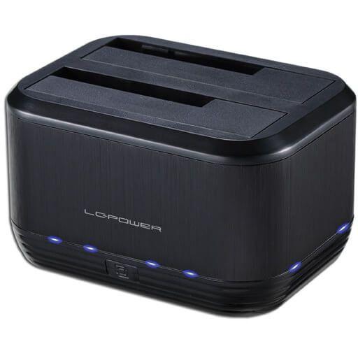 """LC-Power LC-DOCK-U3-III 3,5""""/2,5"""" Dockingstation USB 3.0 Typ-B schwarz"""