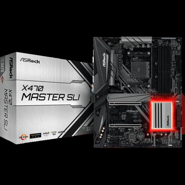 ASRock X470 Master SLI AMD AM4 ATX