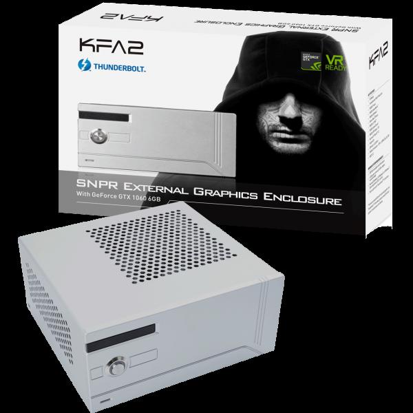 KFA2 SNPR External Graphics Enclosure GTX 1060 6 GB GDDR5 1x Thunderbolt 3