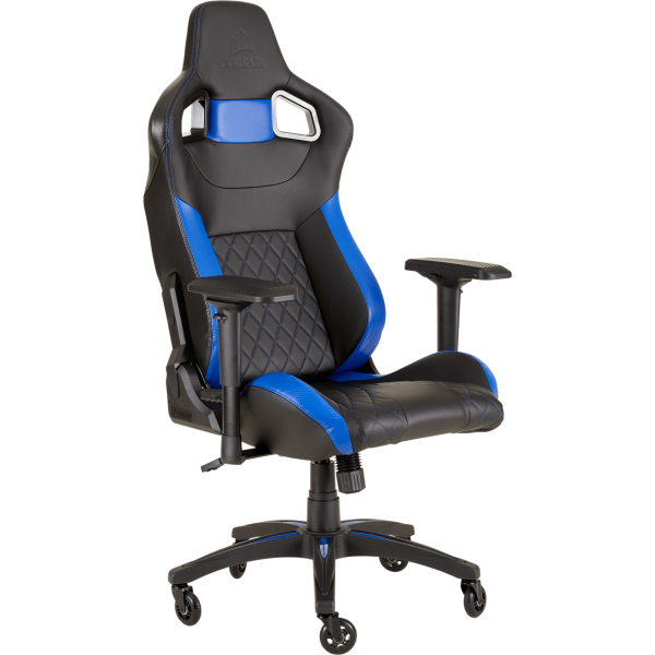 Corsair T1 Race 2018 Gaming Stuhl Schwarz Blau