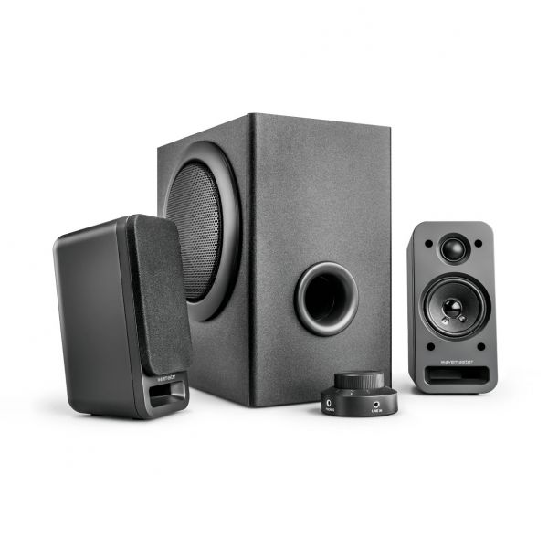 Wavemaster MX-3+ schwarz 2.1 System (MX-3+)
