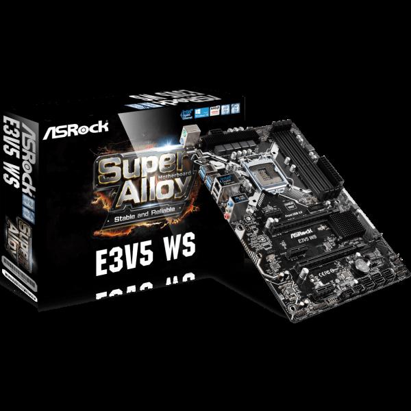 ASRock E3V5 WS Intel 1151 ATX