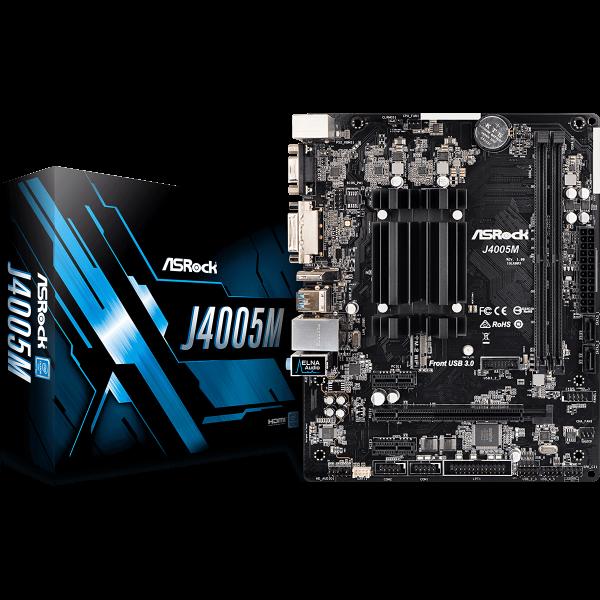 ASRock J4005M integrierte CPU µATX