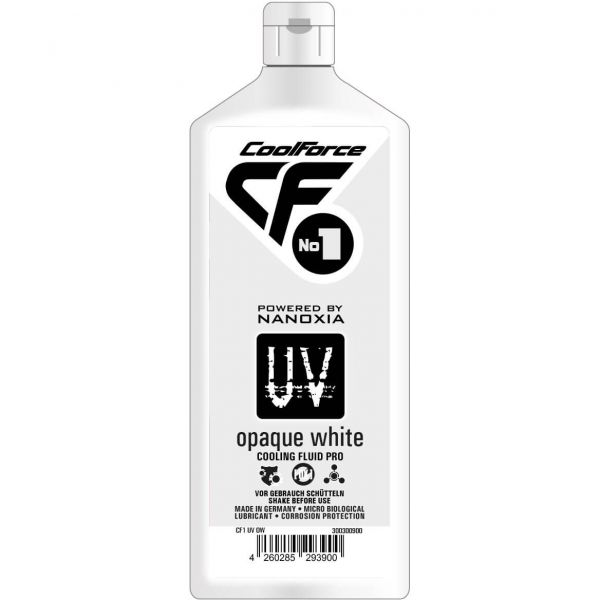 Nanoxia CoolForce No.1 Kühlflüssigkeit UV Opaque White 1 l