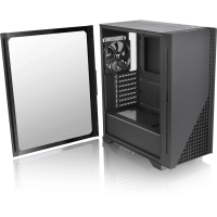 Thermaltake H330 TG schwarz Midi Tower mit Glasfenster