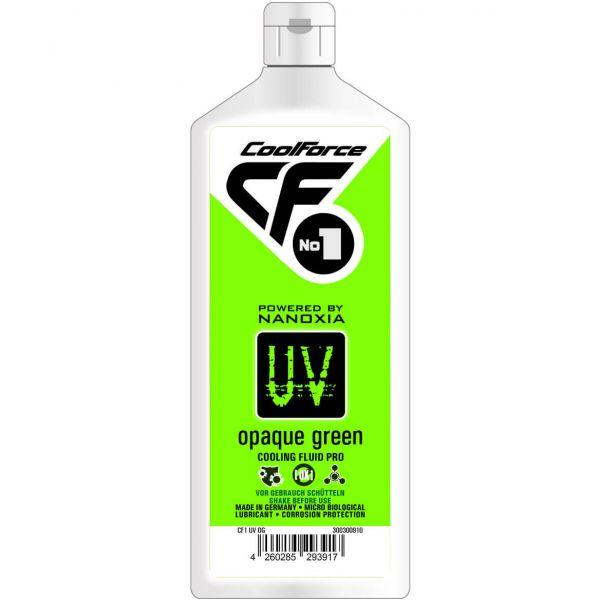Nanoxia CoolForce No.1 Kühlflüssigkeit UV Opaque Green 1 l