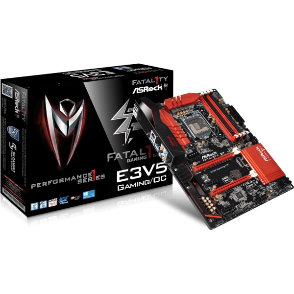 ASRock E3V5 Performance Gaming/OC Intel 1151 ATX