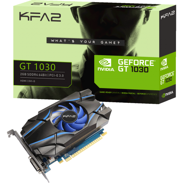 KFA2 GeForce GT 1030 2 GB DDR4 Retail