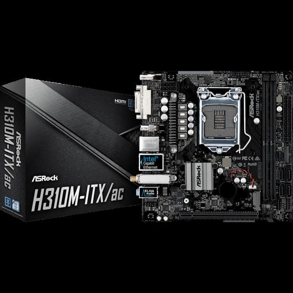 ASRock H310M-ITX/ac Intel 1151 v2 Mini ITX