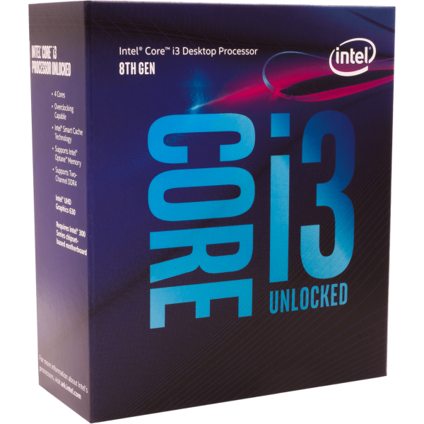 Intel Core i3 8350K 4x 4,00 GHz WOF (BX80684I38350K)