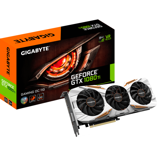 Gigabyte GeForce GTX 1080 Ti Gaming OC 11G 11 GB GDDR5X Retail