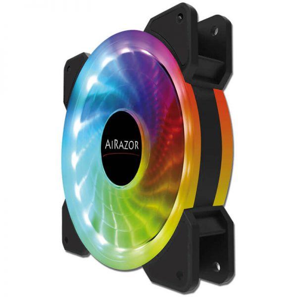 LC-Power AiRazor LC-CF-120-Pro-RGB 120 mm Lüfter LED RGB (LC-CF-120-PRO-RGB)